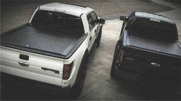 LINE-X Hard Retractable Tonneau Cover