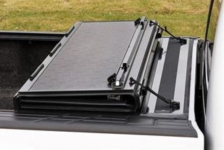 LINE-X Stealth Hard Folding Tonneau Cover